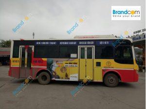 Quảng cáo trên xe bus tại Quảng Ninh