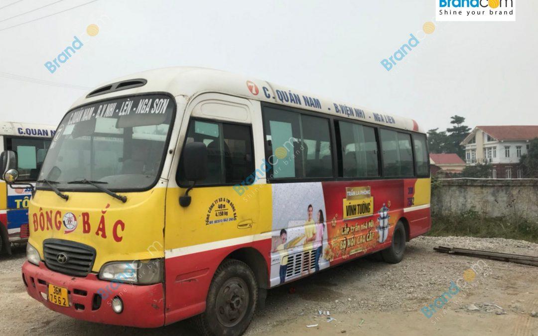 Quảng cáo trên xe bus tại Thanh Hóa và những điều không thể bỏ qua