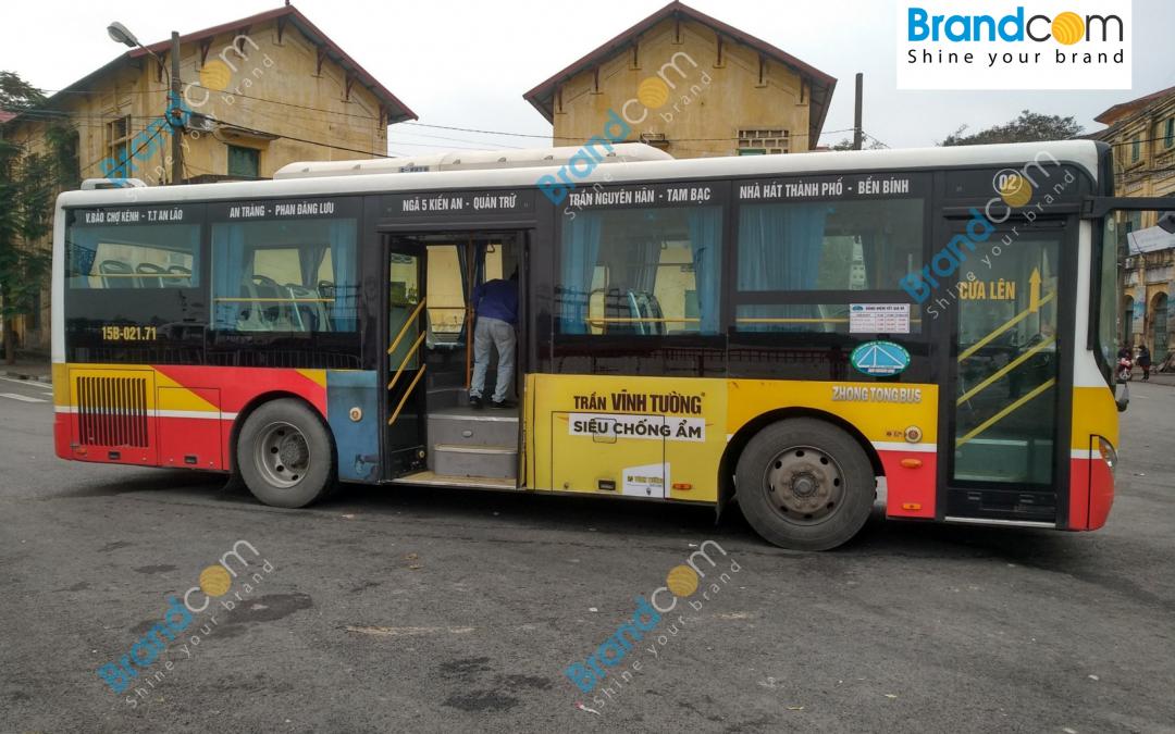 Quảng cáo trên xe bus tại Hải Phòng giải pháp tối ưu cho doanh nghiệp