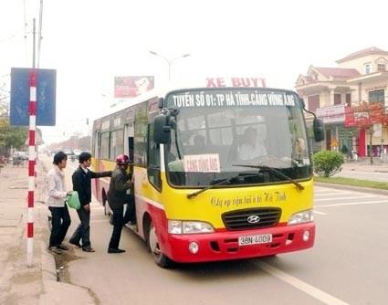 Lộ trình các tuyến xe bus tại Hà Tĩnh