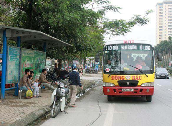 Lộ trình các tuyến xe bus tại Nghệ An