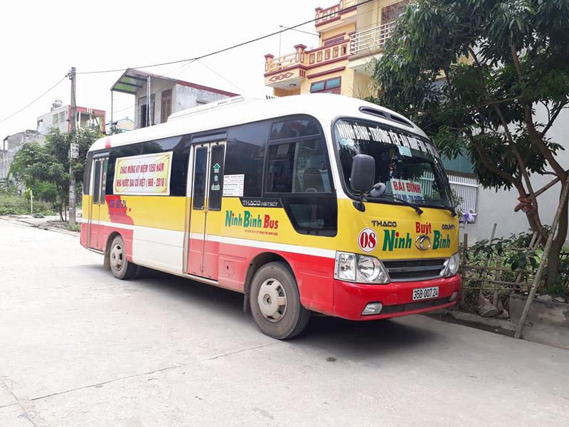 Lộ trình các tuyến xe bus tại Ninh Bình