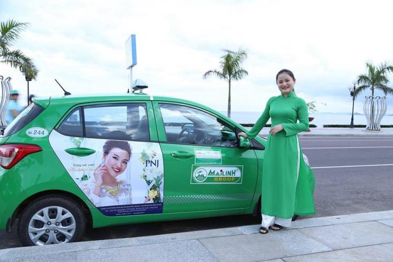 Biển quảng cáo taxi sáng tạo cho các thương hiệu